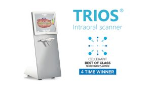 The 3Shape TRIOS Digital Impression Scanner with Cart and Pod
