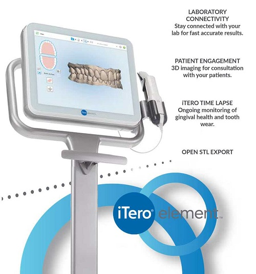 itero element scanner